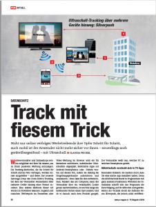 """Track mit fiesem Trick"", PC Magazin 2/2016"